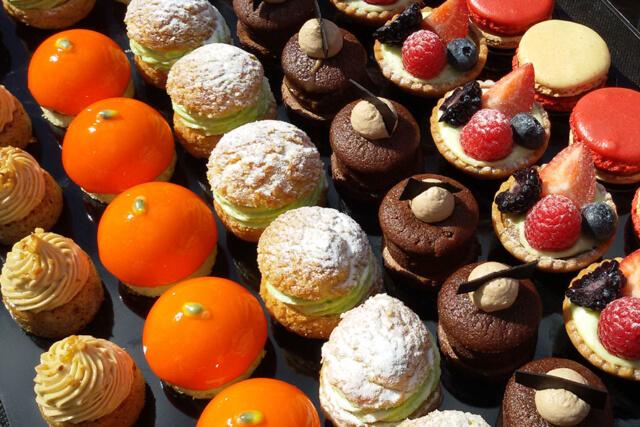 Buffet dessert service entreprise