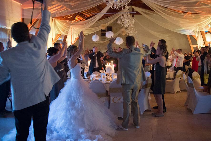 Soirée dansante mariage Château de Montrouge